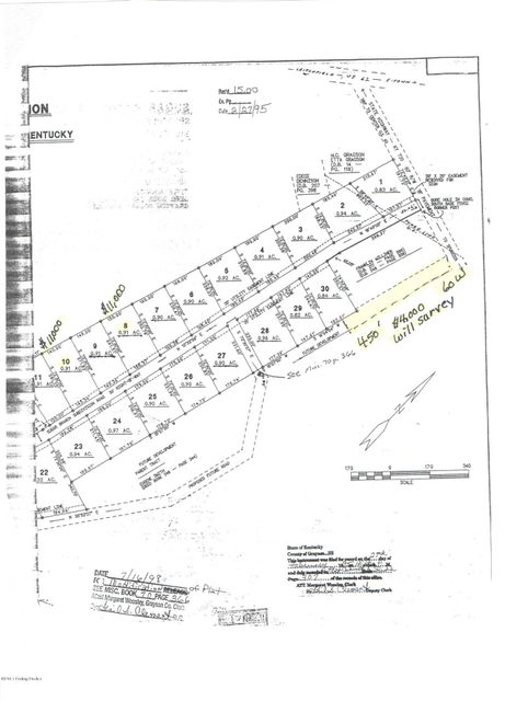 Land for Sale at Sugar Branch Sugar Branch Big Clifty, Kentucky 42712 United States