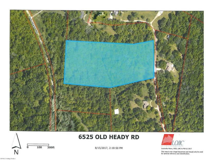 Land for Sale at 6525 Old Heady 6525 Old Heady Louisville, Kentucky 40299 United States