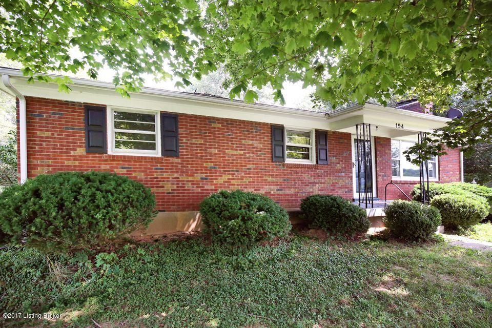 Single Family Home for Sale at 194 Lakeview Trail Shepherdsville, Kentucky 40165 United States