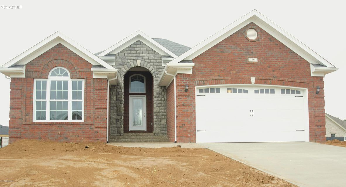Single Family Home for Sale at Lot #519 Wood Rock Court Lot #519 Wood Rock Court Mount Washington, Kentucky 40047 United States