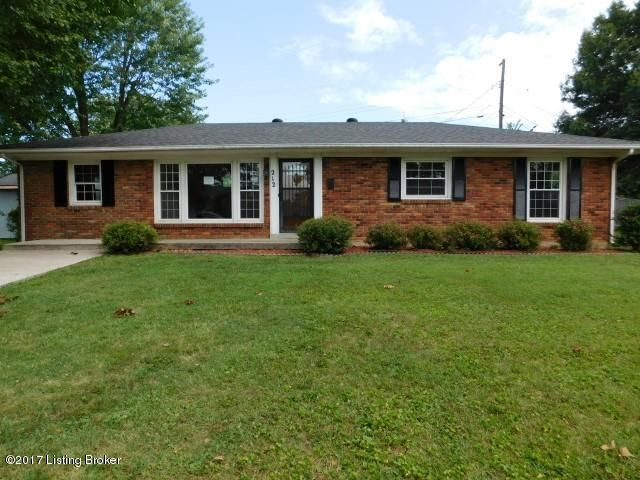 Single Family Home for Sale at 212 Juniper Drive 212 Juniper Drive Frankfort, Kentucky 40601 United States