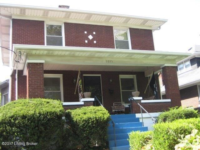 Single Family Home for Sale at 1615 Eastern Pkwy Louisville, Kentucky 40204 United States