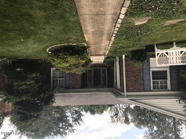Single Family Home for Sale at 707 Greenridge Lane 707 Greenridge Lane Louisville, Kentucky 40207 United States