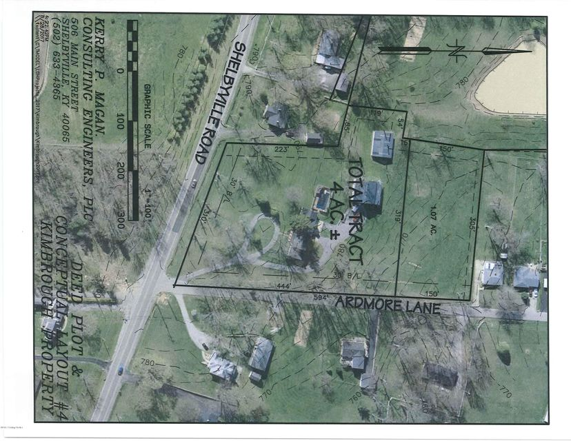 Land for Sale at 1 Ardmore 1 Ardmore Shelbyville, Kentucky 40065 United States