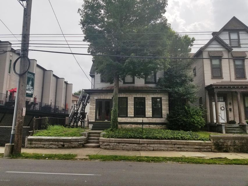 Single Family Home for Sale at 1212 E Broadway Louisville, Kentucky 40204 United States