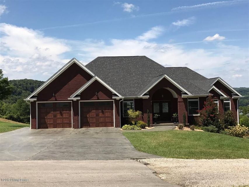 Single Family Home for Sale at 377 River Cliff Blvd 377 River Cliff Blvd Brandenburg, Kentucky 40108 United States