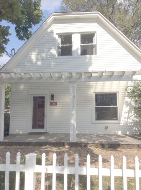 Single Family Home for Sale at 243 S Hite Avenue 243 S Hite Avenue Louisville, Kentucky 40206 United States