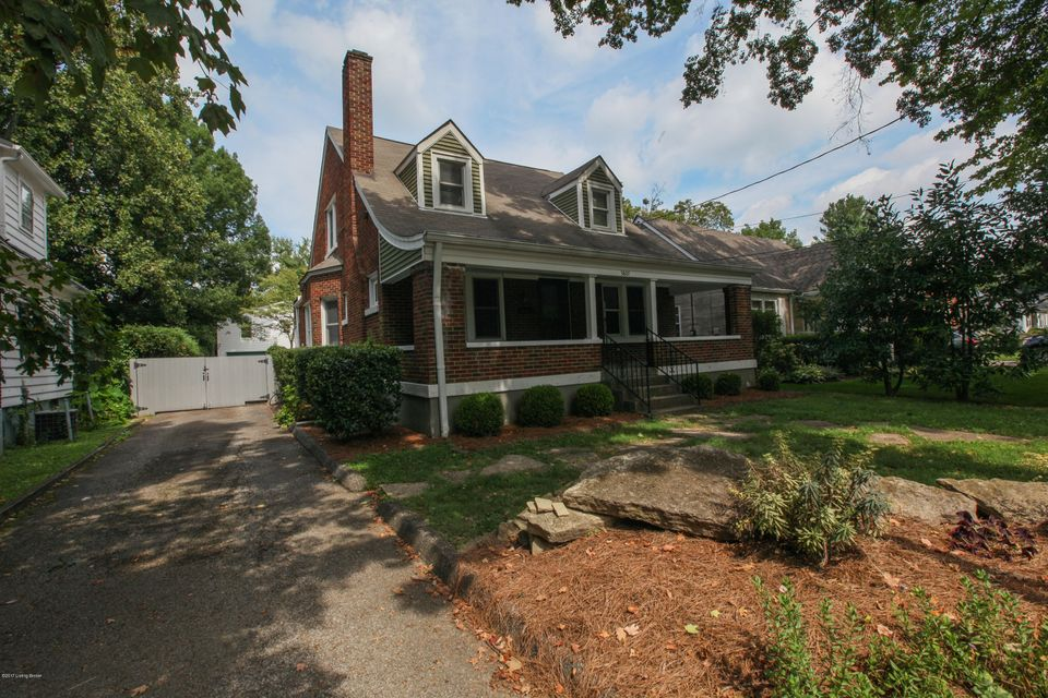 Single Family Home for Sale at 3807 Elmwood Avenue 3807 Elmwood Avenue Louisville, Kentucky 40207 United States