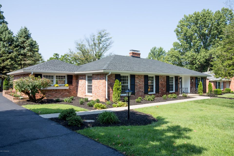 Single Family Home for Sale at 2306 Tuckaho Road 2306 Tuckaho Road Louisville, Kentucky 40207 United States
