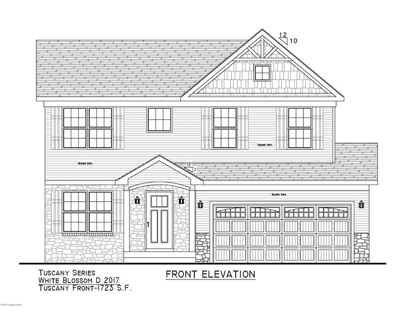 Single Family Home for Sale at Lot 104 Round Rock Drive Lot 104 Round Rock Drive Shepherdsville, Kentucky 40165 United States