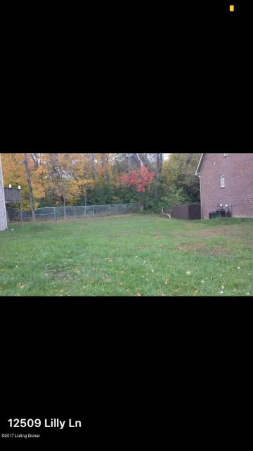 Land for Sale at 12509 lilly 12509 lilly Louisville, Kentucky 40223 United States