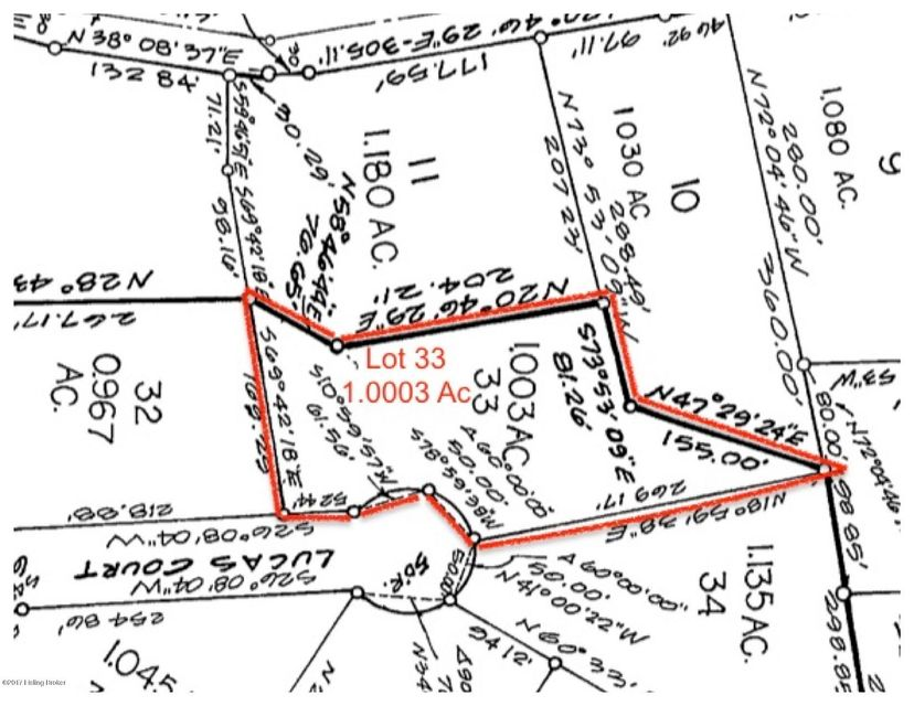 Additional photo for property listing at Lot 33 Lucas Lot 33 Lucas Brandenburg, Kentucky 40108 United States