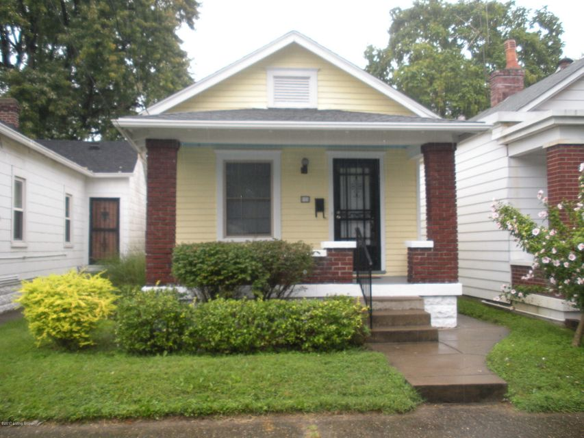 Single Family Home for Sale at 815 Sylvia Street 815 Sylvia Street Louisville, Kentucky 40217 United States