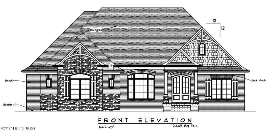Single Family Home for Sale at Lot 2 Meadow Bluff Drive Lot 2 Meadow Bluff Drive Louisville, Kentucky 40245 United States
