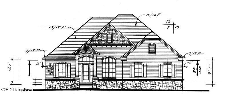 Single Family Home for Sale at Lot 28 Faye Meadow Court Lot 28 Faye Meadow Court Pewee Valley, Kentucky 40056 United States