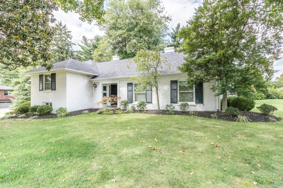 Single Family Home for Sale at 6401 Regal Road 6401 Regal Road Louisville, Kentucky 40222 United States