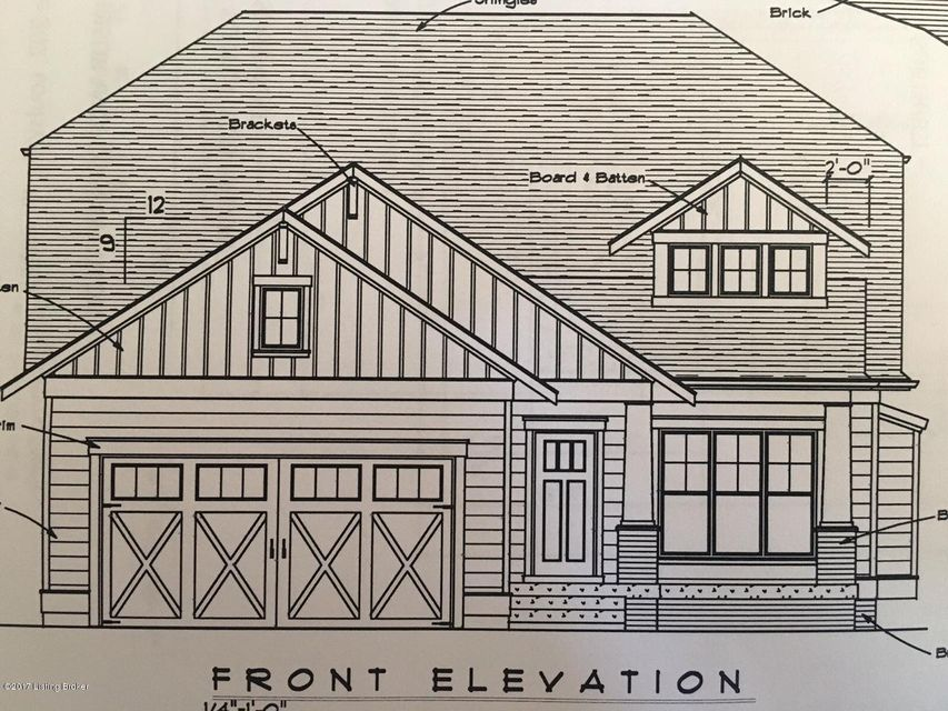 Single Family Home for Sale at Lot 18 Claymont Village Drive Lot 18 Claymont Village Drive Crestwood, Kentucky 40014 United States