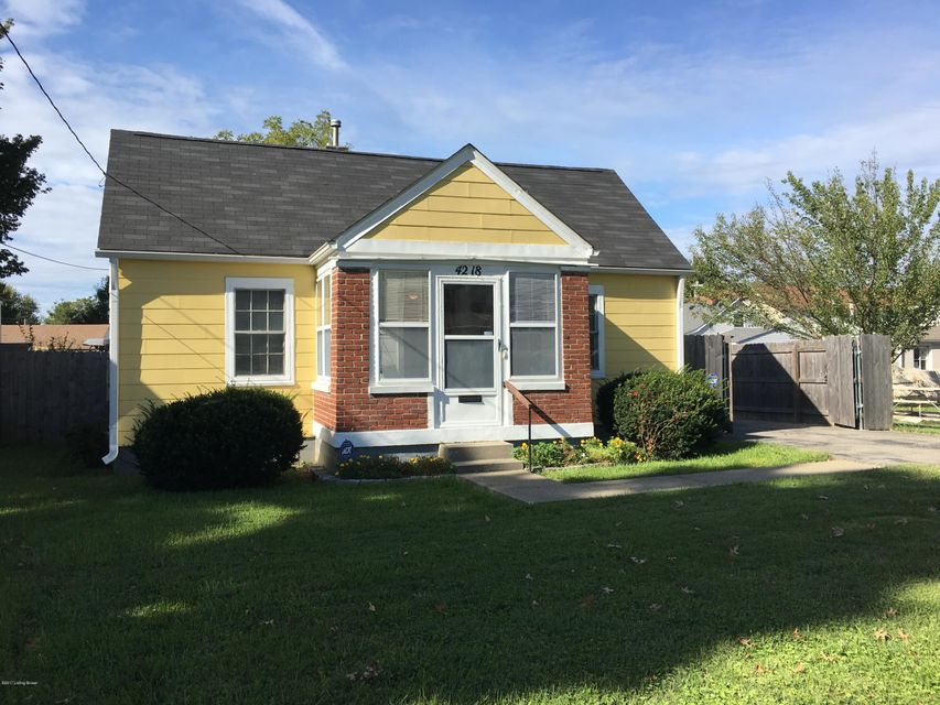 Single Family Home for Sale at 4218 Curtis Avenue 4218 Curtis Avenue Louisville, Kentucky 40213 United States