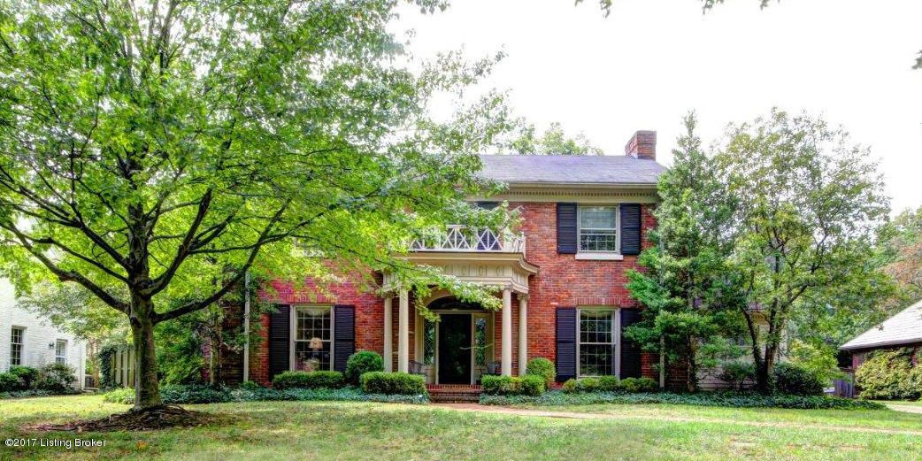 Single Family Home for Sale at 1708 Sulgrave Road 1708 Sulgrave Road Louisville, Kentucky 40205 United States