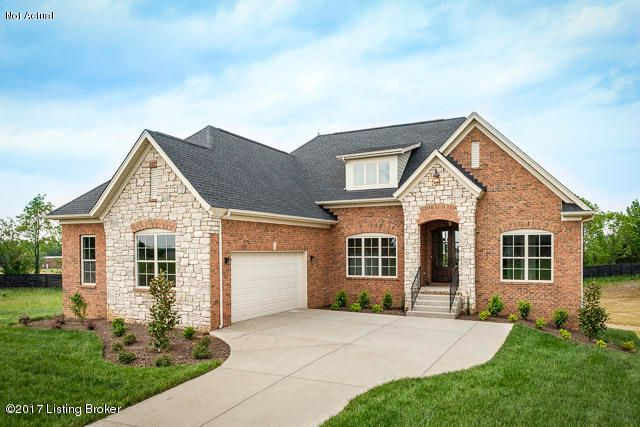Single Family Home for Sale at Lot 6 Ava Brooke Circle Lot 6 Ava Brooke Circle Louisville, Kentucky 40245 United States