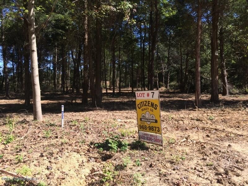 Land for Sale at Lot#7 Whistling Oaks Lot#7 Whistling Oaks Glendale, Kentucky 42740 United States