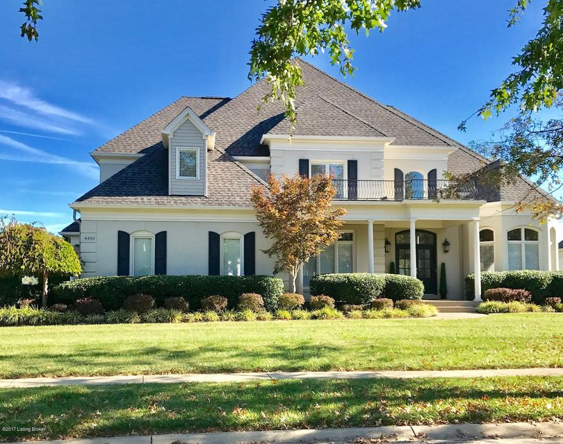 Single Family Home for Sale at 6403 Innisbrook Drive 6403 Innisbrook Drive Prospect, Kentucky 40059 United States