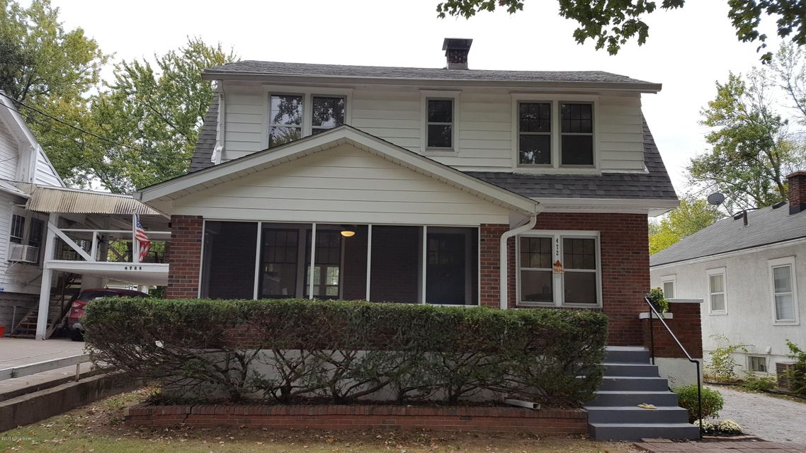 Single Family Home for Sale at 4727 S 6th Street 4727 S 6th Street Louisville, Kentucky 40214 United States
