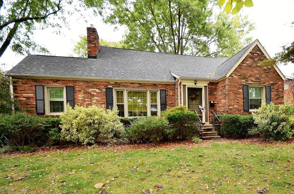 Single Family Home for Sale at 4301 Kinloch Road 4301 Kinloch Road Louisville, Kentucky 40207 United States