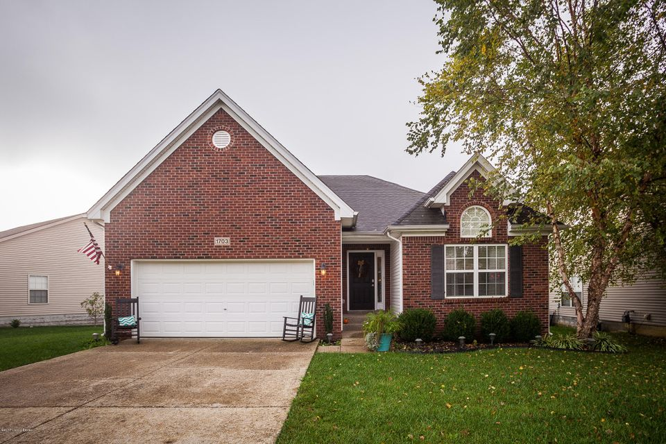 Single Family Home for Sale at 1703 Belay Way 1703 Belay Way Louisville, Kentucky 40245 United States