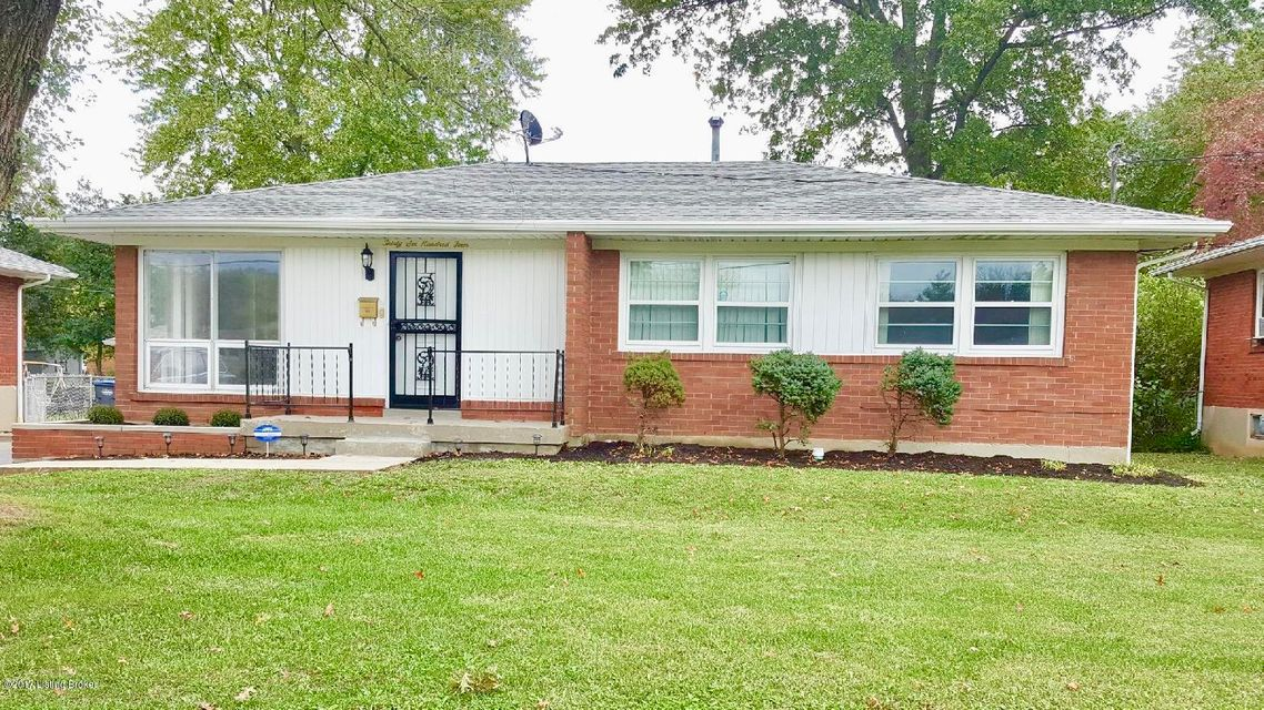 Single Family Home for Sale at 3604 E Indian Trail 3604 E Indian Trail Louisville, Kentucky 40213 United States