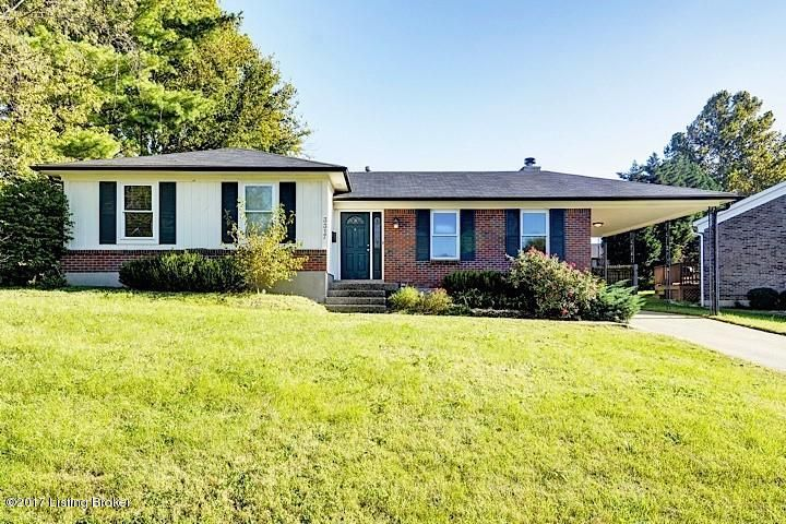 Single Family Home for Sale at 3317 Breaux Drive 3317 Breaux Drive Louisville, Kentucky 40220 United States