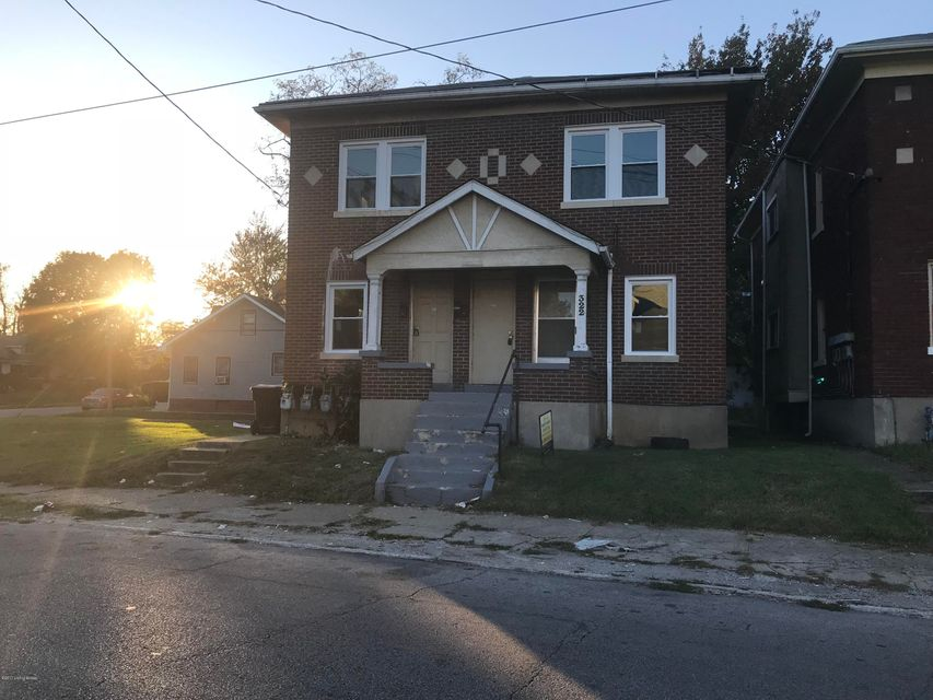 Multi-Family Home for Sale at 322 41st 322 41st Louisville, Kentucky 40212 United States