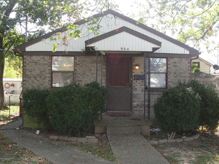 Single Family Home for Rent at 934 W Whitney Avenue 934 W Whitney Avenue Louisville, Kentucky 40215 United States