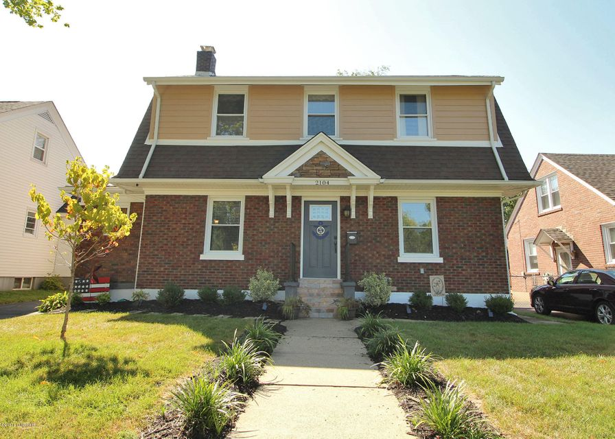 Single Family Home for Rent at 2104 Lancashire Avenue 2104 Lancashire Avenue Louisville, Kentucky 40205 United States