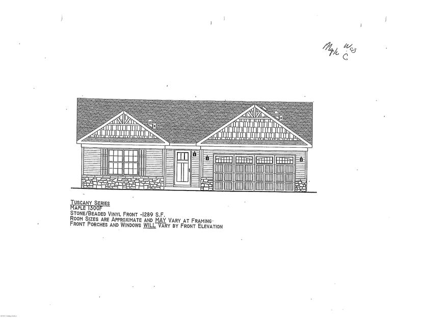 Single Family Home for Sale at Lot 115 Round Rock Drive Lot 115 Round Rock Drive Shepherdsville, Kentucky 40165 United States