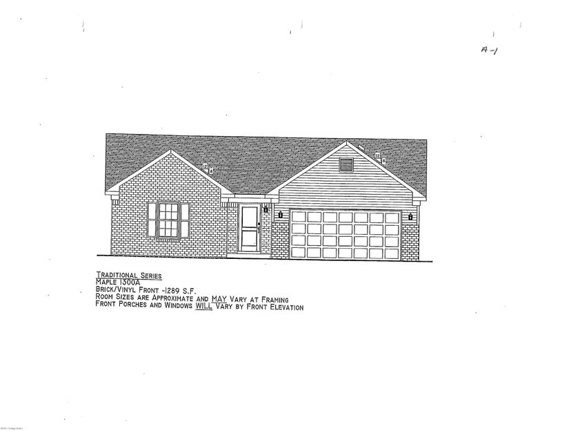Single Family Home for Sale at Lot 522 Gadwall Court Lot 522 Gadwall Court Shepherdsville, Kentucky 40165 United States