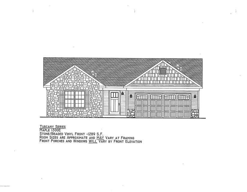 Single Family Home for Sale at Lot 24 Coldstream Court Lot 24 Coldstream Court Mount Washington, Kentucky 40047 United States