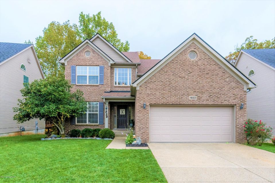 Single Family Home for Sale at 1822 Belay Way 1822 Belay Way Louisville, Kentucky 40245 United States