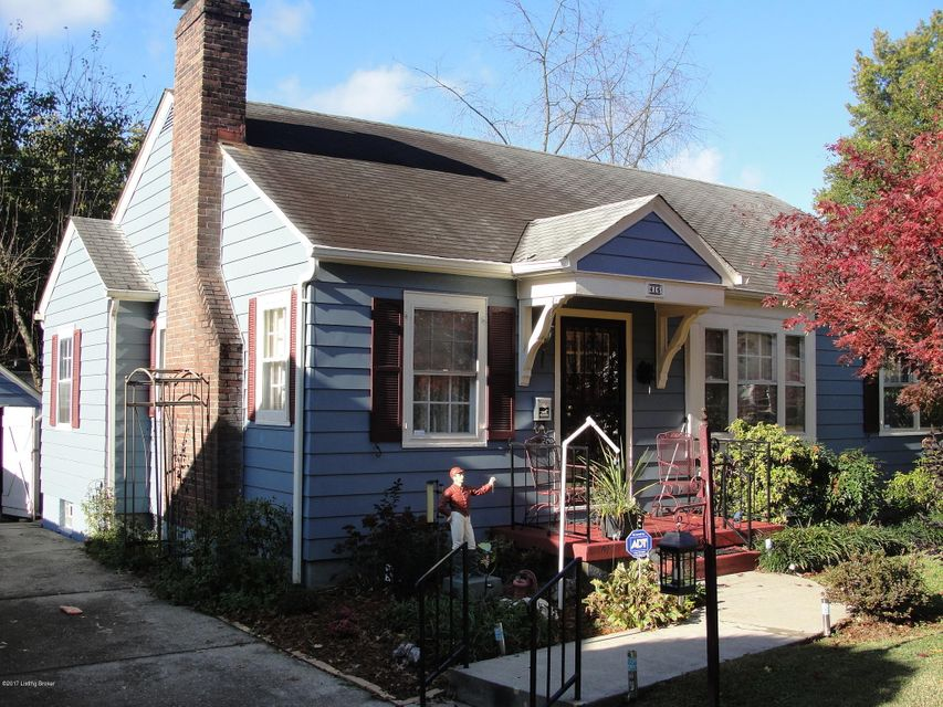 Single Family Home for Sale at 416 Christopher Place 416 Christopher Place Louisville, Kentucky 40214 United States