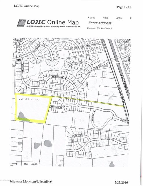 Land for Sale at 8602 Old Bardstown 8602 Old Bardstown Louisville, Kentucky 40291 United States