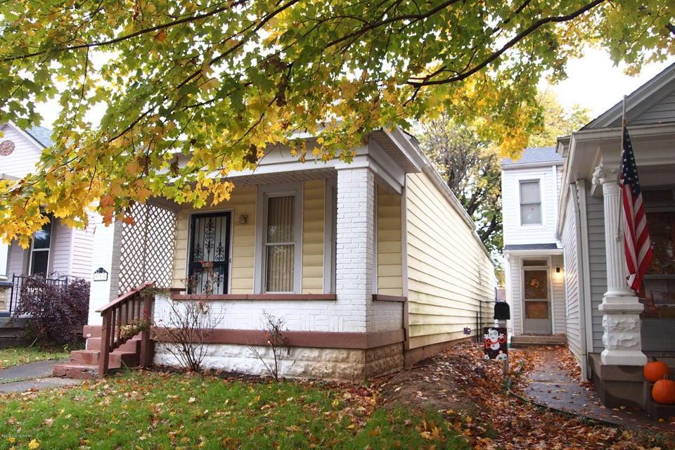 Single Family Home for Sale at 939 Ellison Avenue 939 Ellison Avenue Louisville, Kentucky 40204 United States