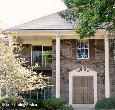 Condominium for Sale at 306 Logsdon Court 306 Logsdon Court Louisville, Kentucky 40243 United States