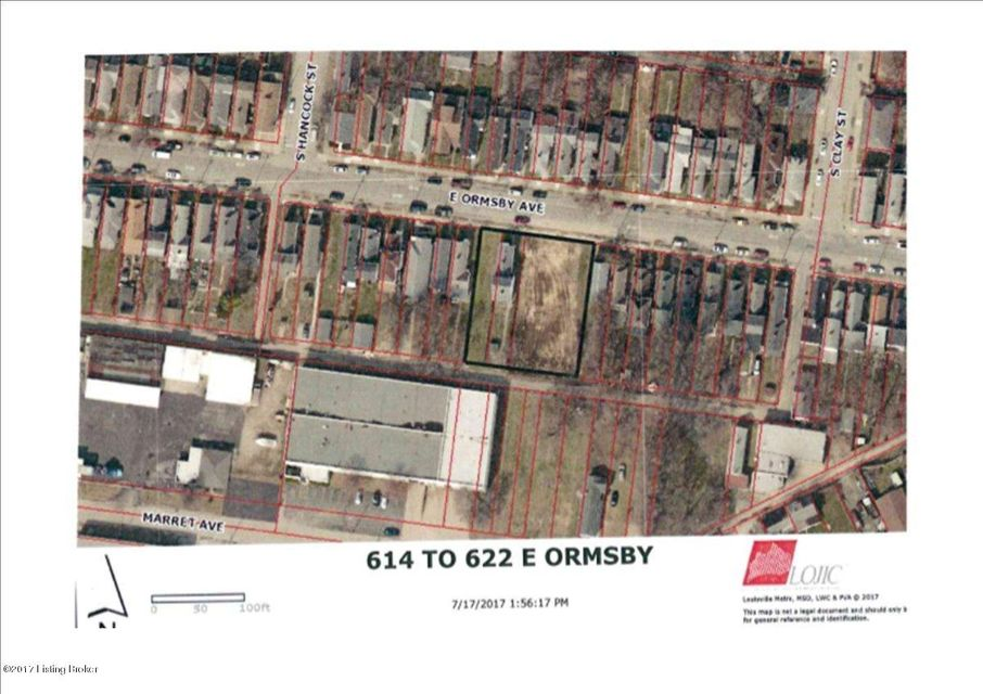 Single Family Home for Sale at 618 E Ormsby Avenue 618 E Ormsby Avenue Louisville, Kentucky 40203 United States