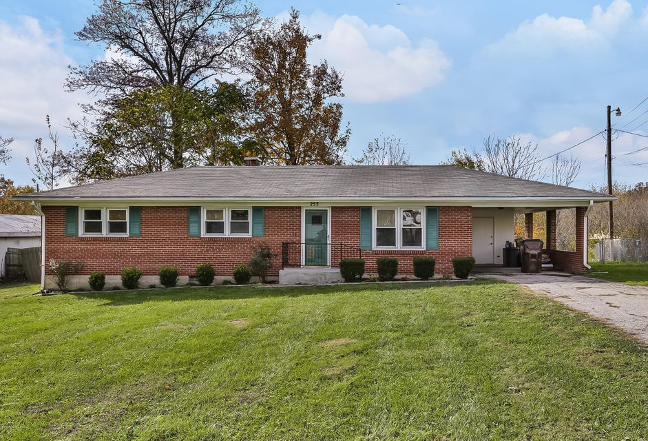 Single Family Home for Sale at 253 Henry Street 253 Henry Street Eminence, Kentucky 40019 United States