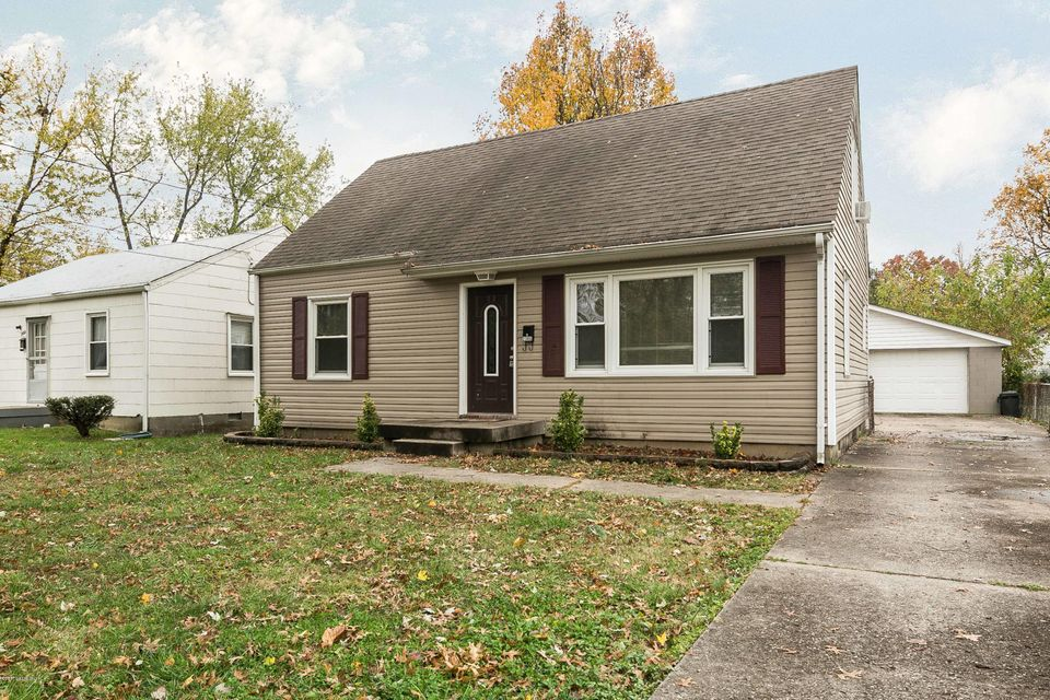 Single Family Home for Sale at 2306 Thomas Avenue 2306 Thomas Avenue Louisville, Kentucky 40216 United States