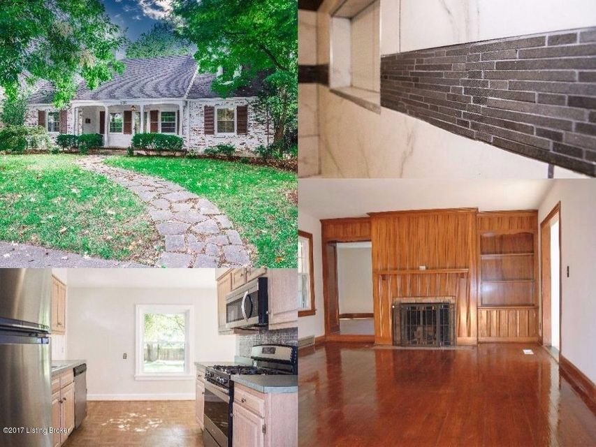 Single Family Home for Sale at 3336 Robin Road 3336 Robin Road Louisville, Kentucky 40213 United States