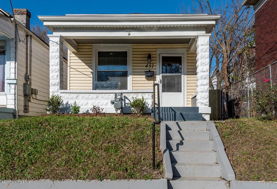 Single Family Home for Sale at 431 Camp Street 431 Camp Street Louisville, Kentucky 40203 United States