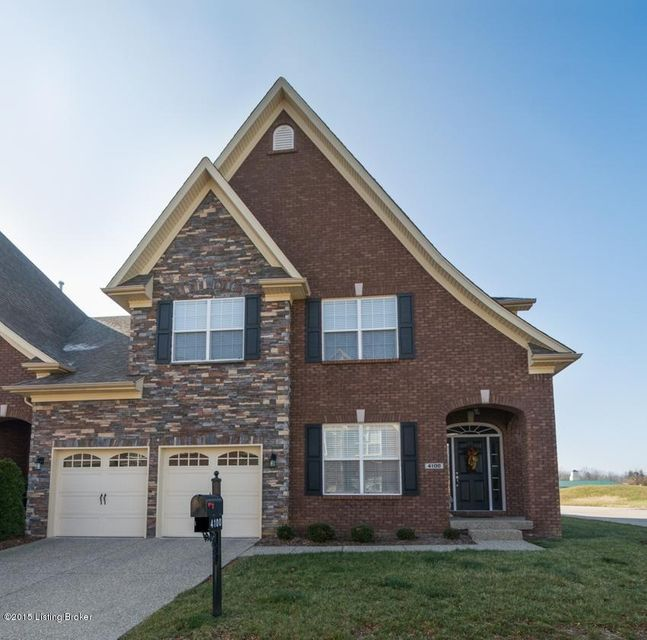 Condominium for Sale at 4104 Hayden Kyle Court 4104 Hayden Kyle Court Prospect, Kentucky 40059 United States