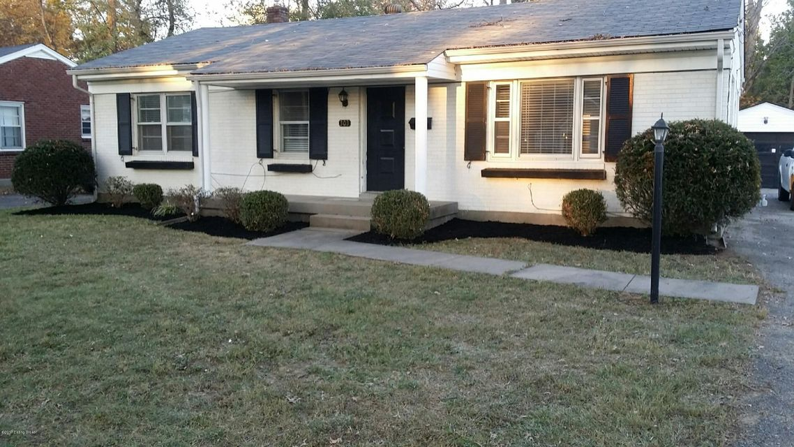 Single Family Home for Rent at 303 Primrose Drive 303 Primrose Drive Louisville, Kentucky 40207 United States