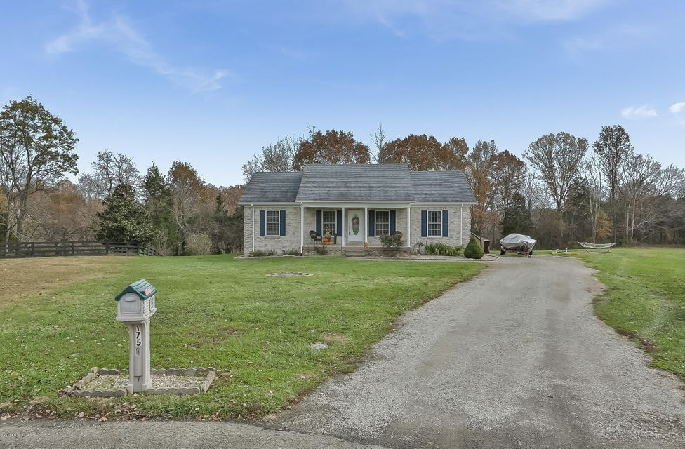 Single Family Home for Sale at 175 Wagon Trail 175 Wagon Trail Taylorsville, Kentucky 40071 United States